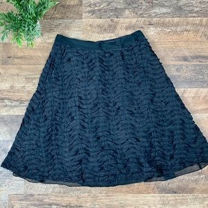Club Monaco Black A-Line Skirt Size 2